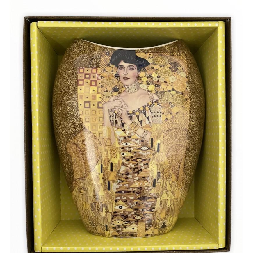 Váza 20cm Klimt DÁMA v ozdobnej krabici
