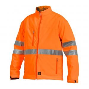 Softshellová bunda SOFTSHELL K HVP Oranžová