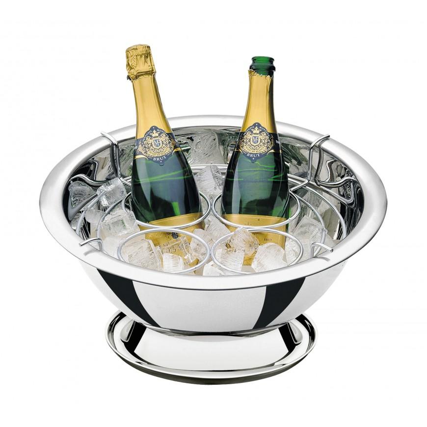 Chladič na šampanské so stojanom na 4-fľaše 42cm/11,9l
