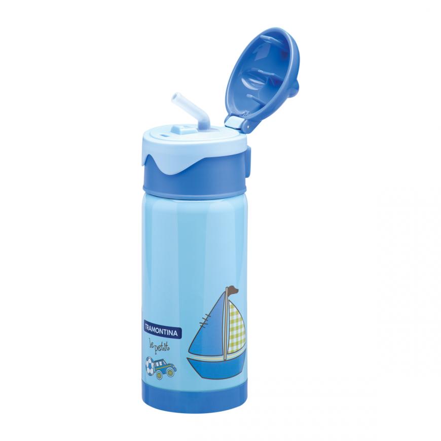 Vákuová detská fľaša modrá 350ml