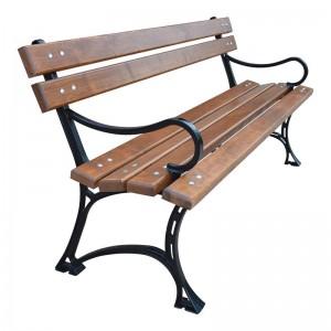 Kráľovská lavica s lakťovou opierkou 150