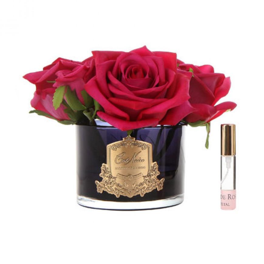Parfémované ruže Carmine Red - 5 ks