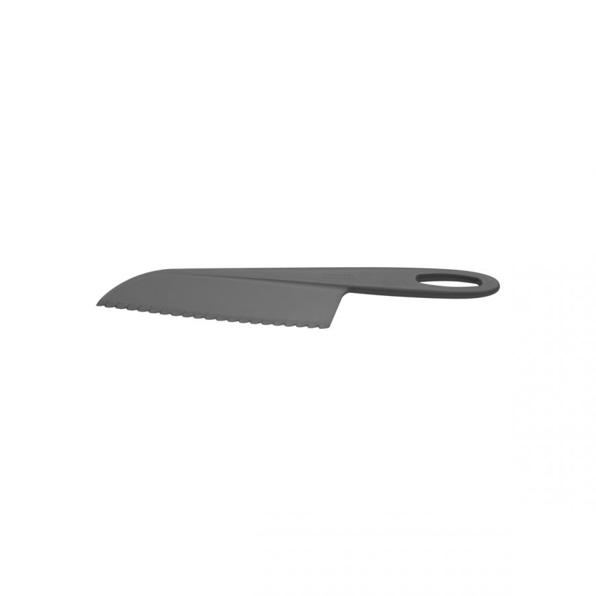 Nôž na koláče a šaláty 33cm čierny