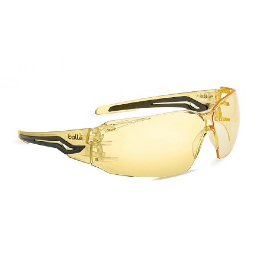 Ochranné okuliare BOLLE SILEX žlté