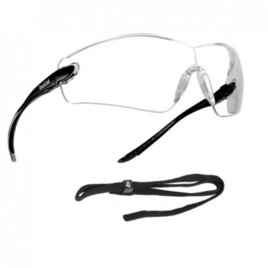 Ochranné okuliare COBRA priezračné