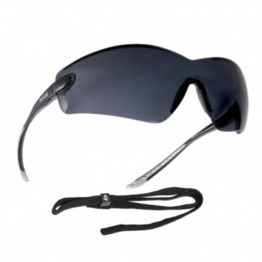 Ochranné okuliare COBRA tmavé