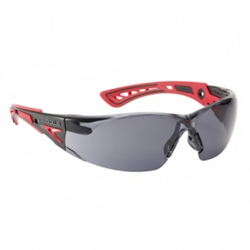 Ochranné okuliare RUSH PLUS červené tmavé