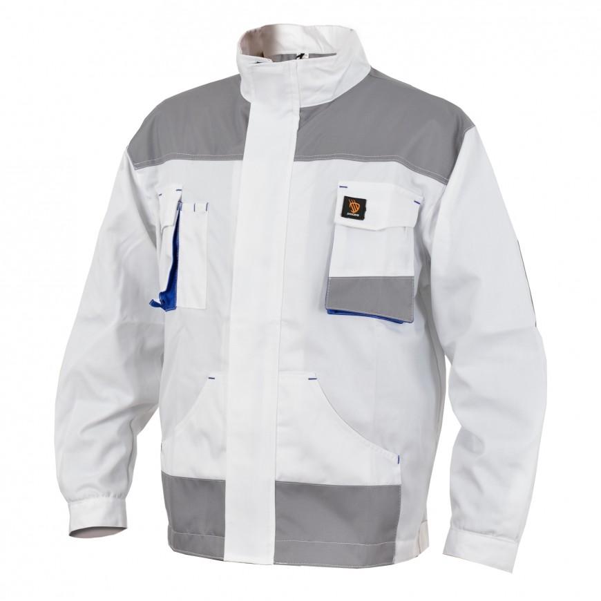 Pracovná bunda PROMAN 260 K Biela