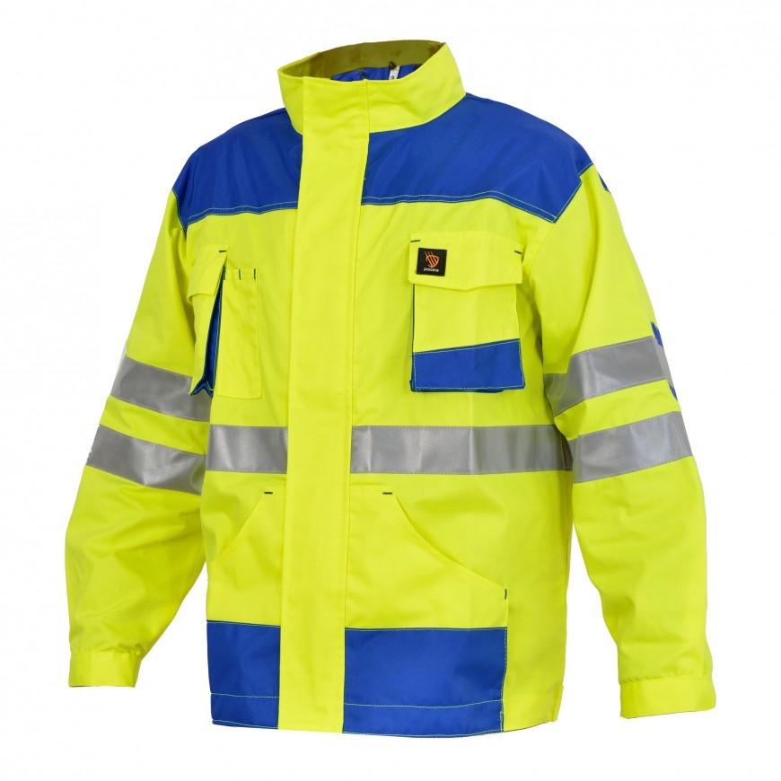 Pracovná bunda PROMAN 260 K HV Žltá