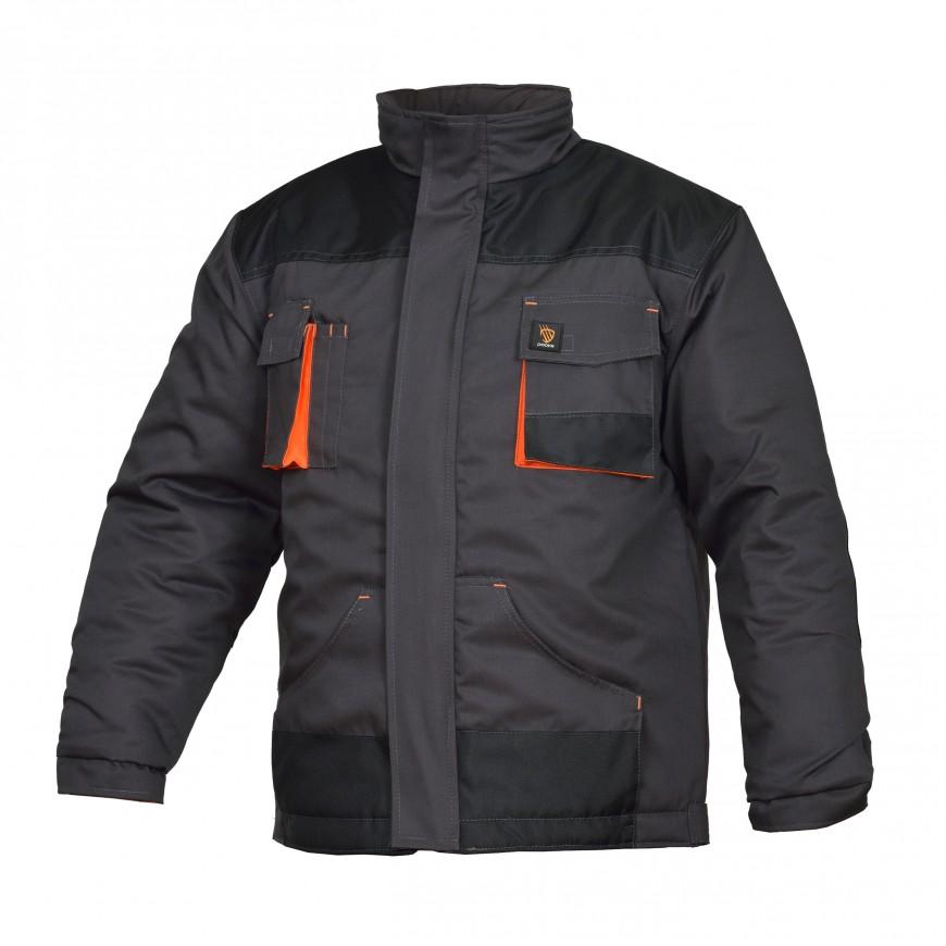 Pracovná bunda zateplená PROMAN 260 KO S Sivá