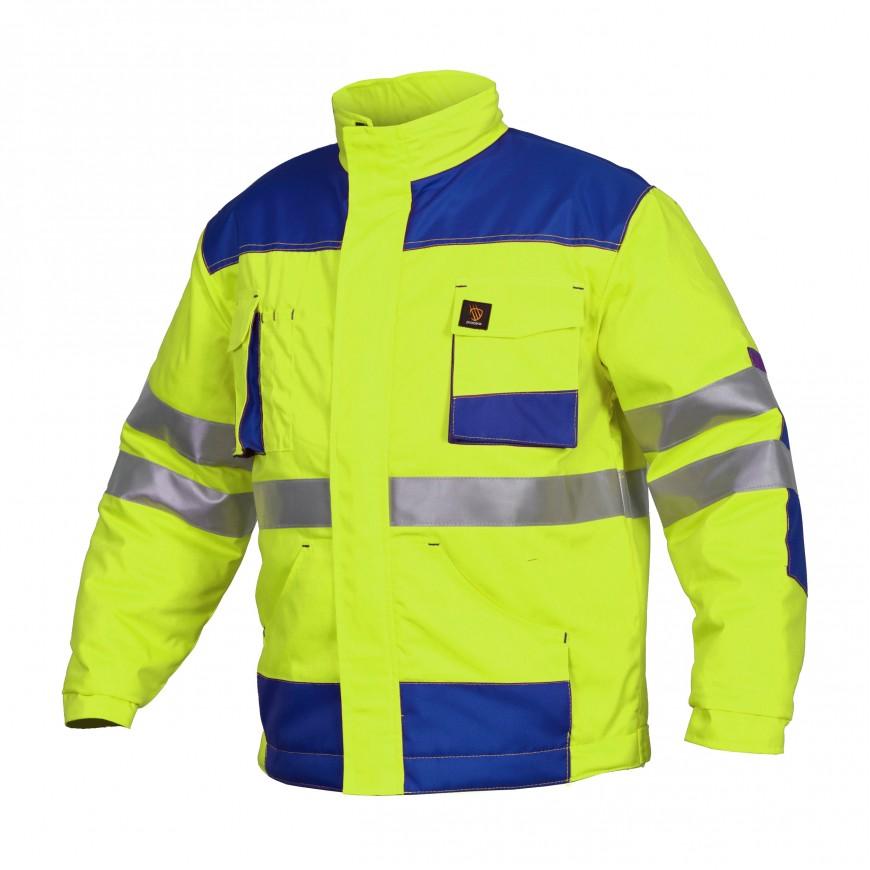 Pracovná bunda zateplená PROMAN 260 KO HV Žltá