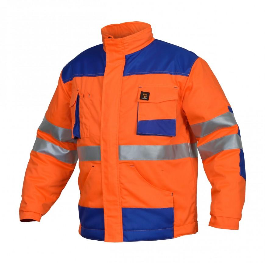 Pracovná bunda zateplená PROMAN 260 KO HVP Oranžová