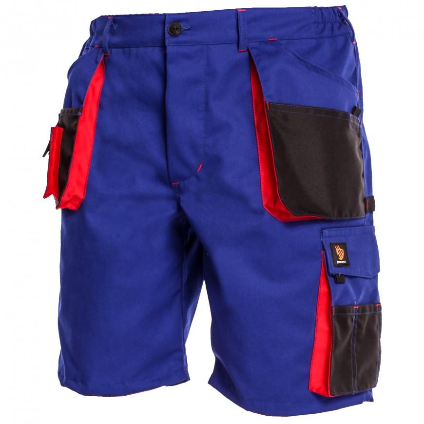 Pracovné nohavice krátke PROMAN 290 Modré