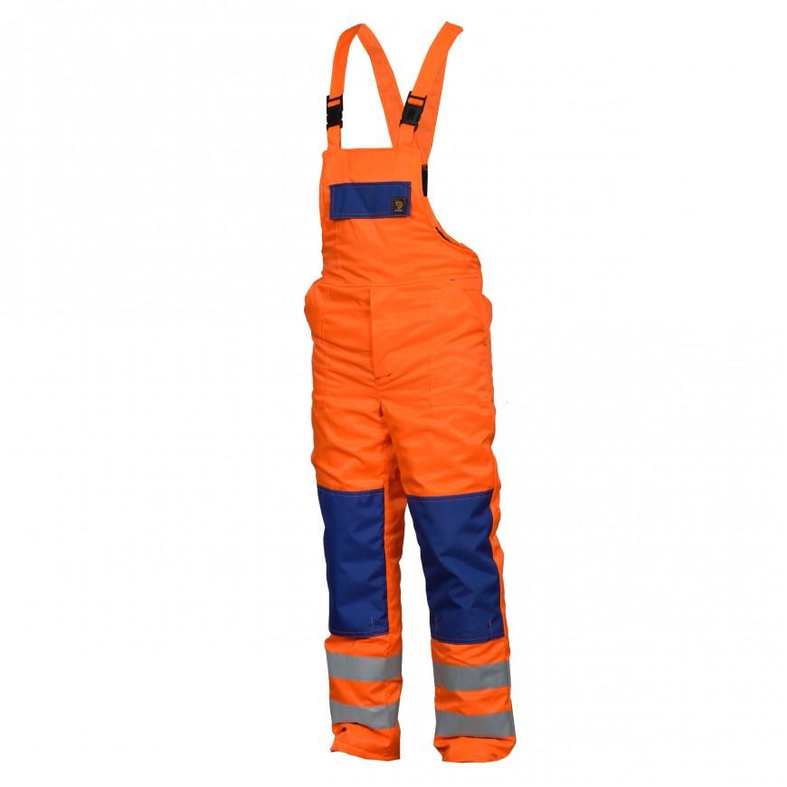 Pracovné nohavice zateplené OGV HVP Oranžové
