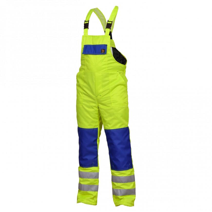 Pracovné nohavice zateplené OGV HV Žlté