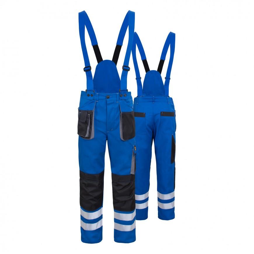 Pracovné nohavice PROMAN DUAL Cotton 250 Modré