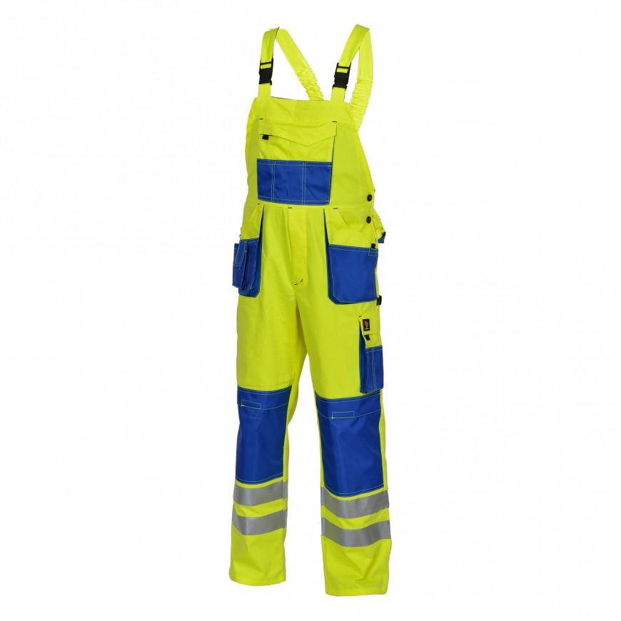 Pracovné nohavice PROMAN 260 SO HV Žlté