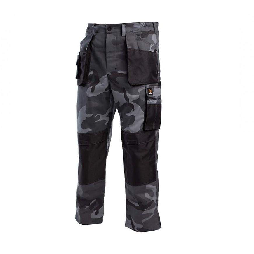 Pracovné nohavice PROMAN 260 SP Maskáčová Sivá
