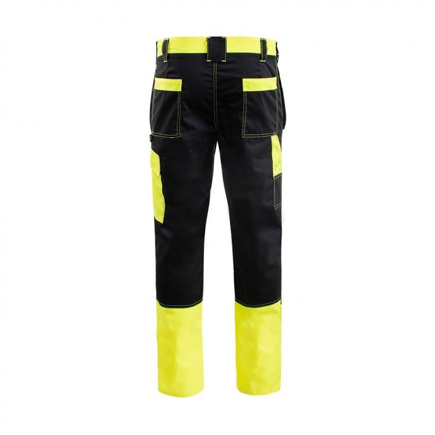 Pracovné nohavice PROMONTER 260 SP C HV Čierno-žlté