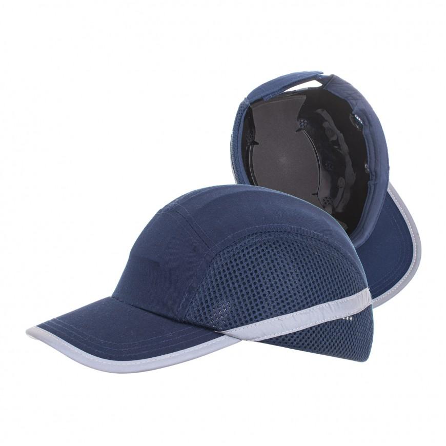 Čapica ochranná modrá BUMPCUP GR