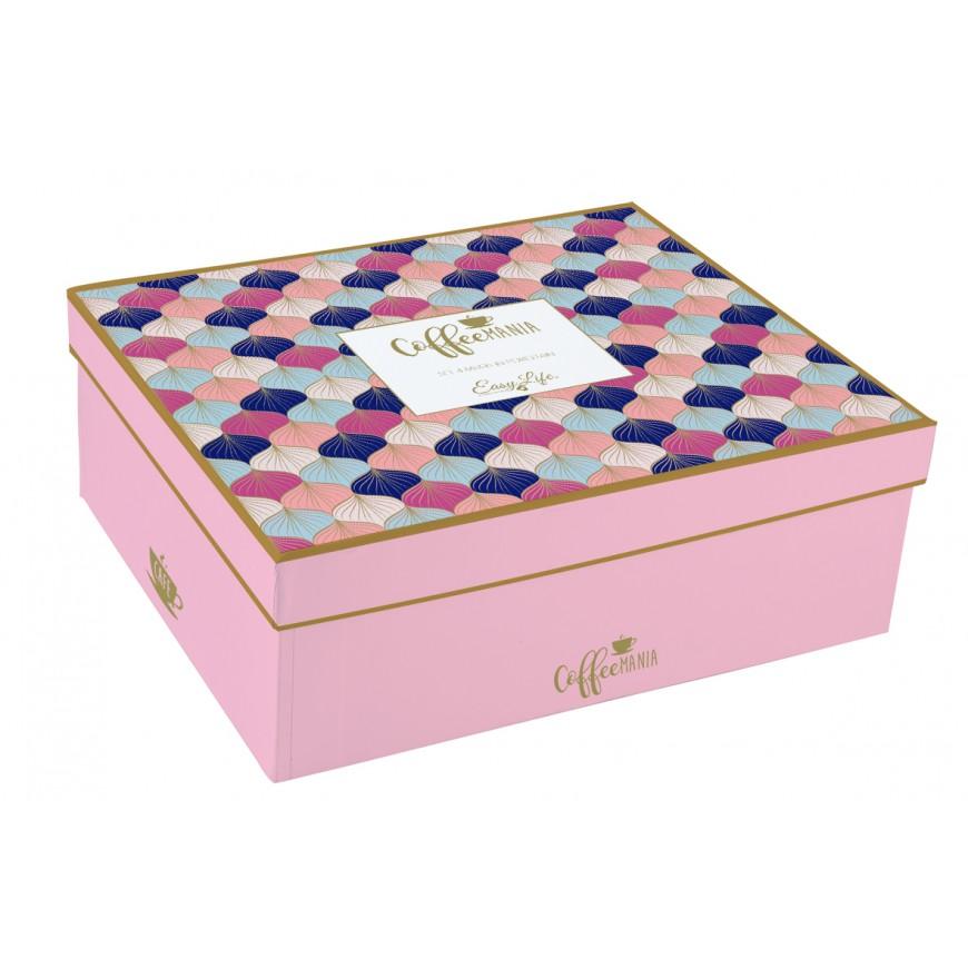 Set hrnčekov Pink /blue