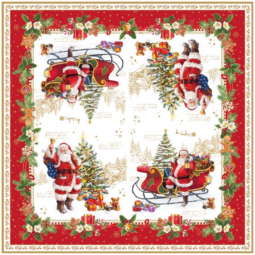 Servítky Christmas memories