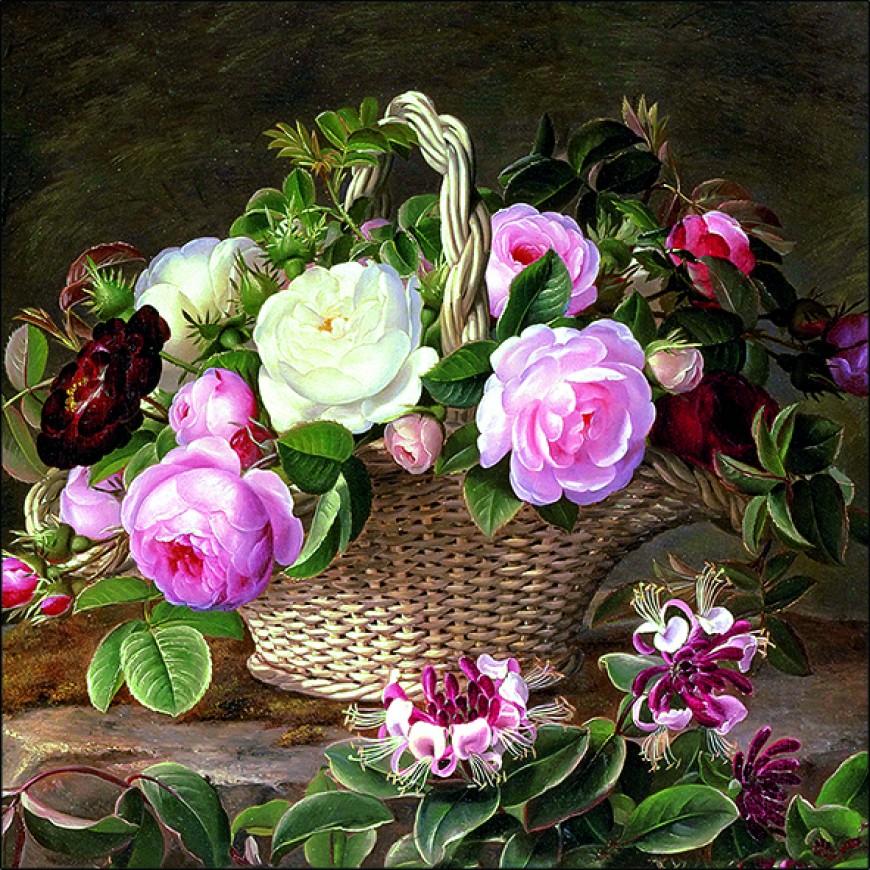 Servítky Old England roses