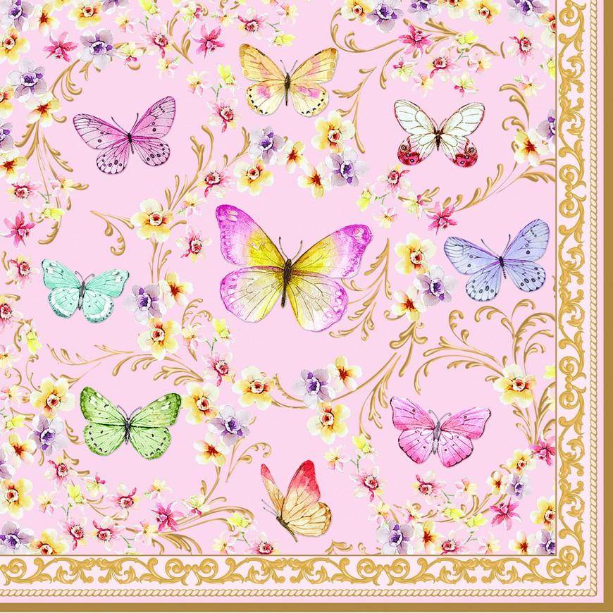 Servítky Majestic butterflies