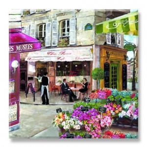 Servítky Rue de Paris
