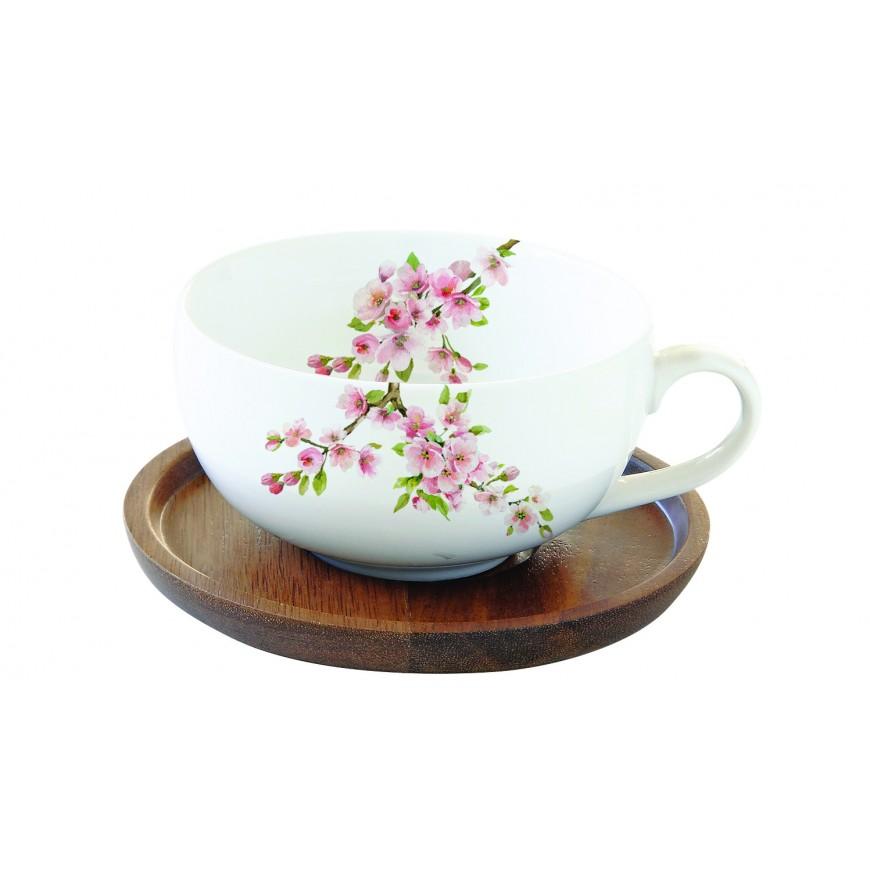 Šálka s podšálkou na čaj 250ml