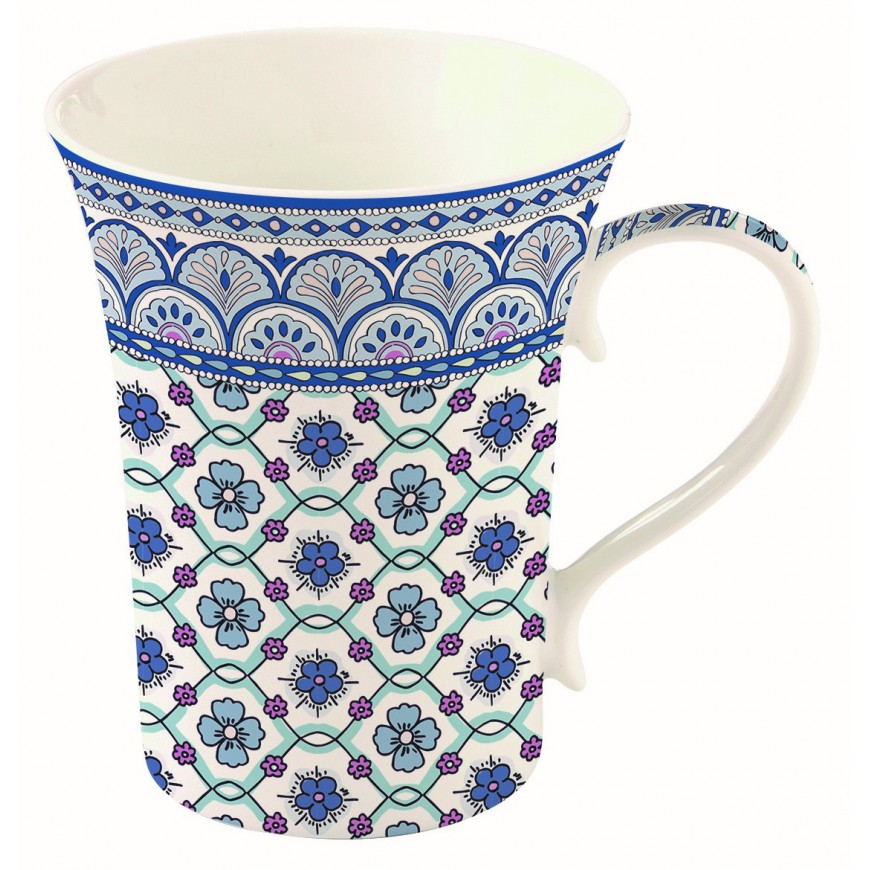 Súprava hrnčekov na čaj Blue