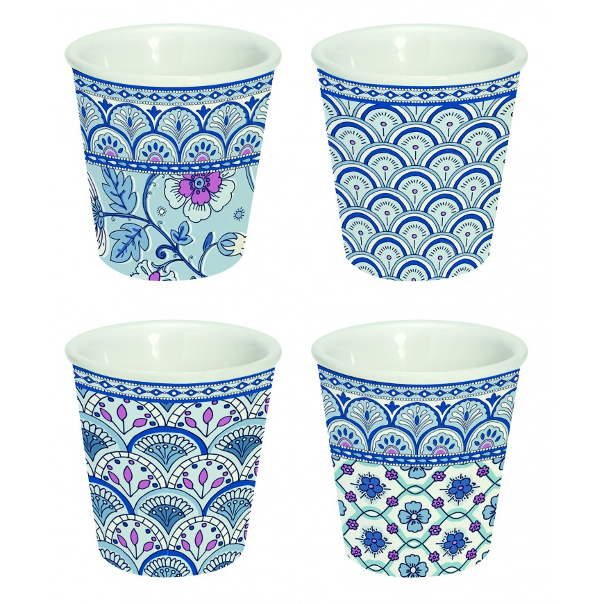 Súprava šálok na čaj Blue