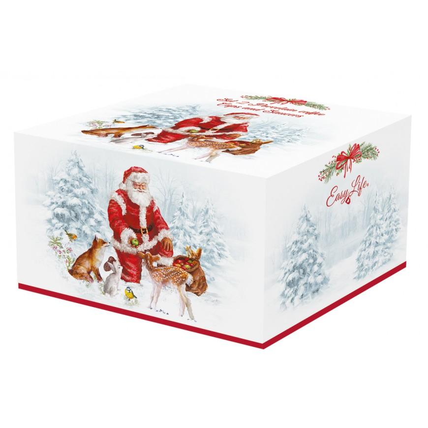 Set šálok s podšálkou 120 ml /2ks Christmas carol