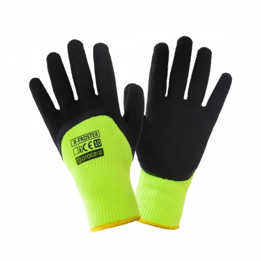 Pracovné rukavice X-FROSTER