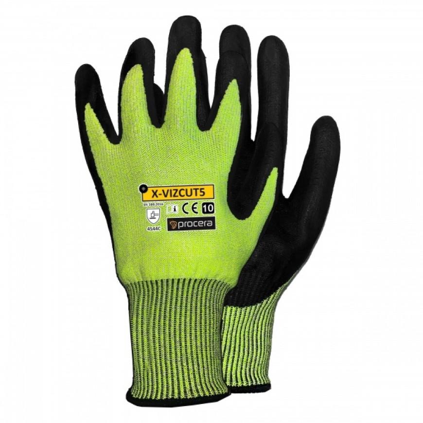 Pracovné rukavice X-VIZCUT 5