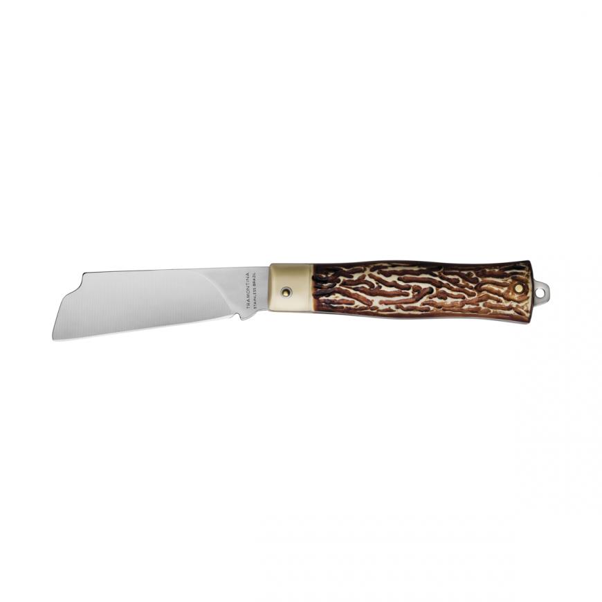 Vreckový nožík 7,6cm tvarovaná čepeľ