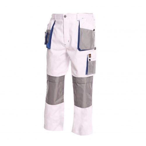 Pracovné nohavice PROMAN 260 SO Biele