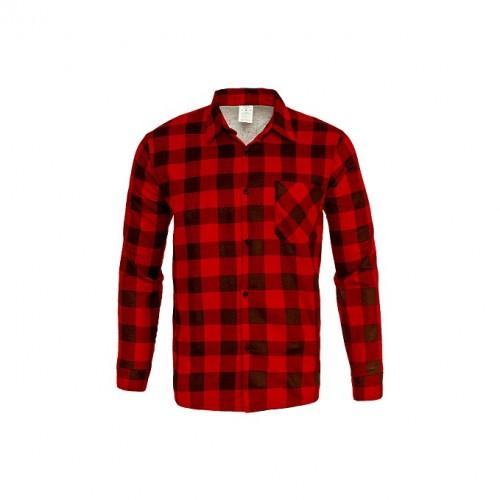 Košeľa flanelová červená
