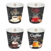 Kávová súprava piccolo Coffee Time 80ml - 4ks